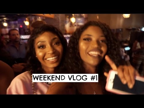 WEEKEND VLOG #1 | GETTING KICKED OUT OF THE CLUB | Miss.Cameroon