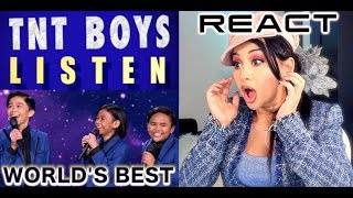 "Singer / Vocal Coach REACTS to TNT BOYS ""Listen"" WORLD's BEST 