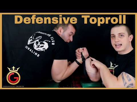 How To Use Defensive Top Roll In Armwrestling