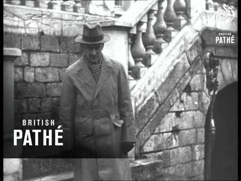 Neville Chamberlain Speaks In France On Bef (1939)