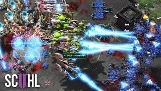 EUROPE vs. USA - Starcraft 2: Serral vs. Neeb