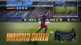 Fifa 16 Unlisted Skills Tutorial [PS3, PS4]