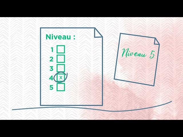 Processus de réclamation, Niveaux 2 à 5