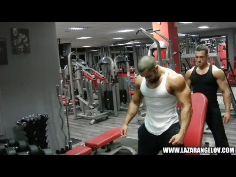Lazar Angelov - Shoulders Workout With Slavi Goranchovski