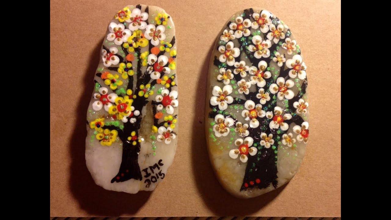 Painted rocks! - YouTu...