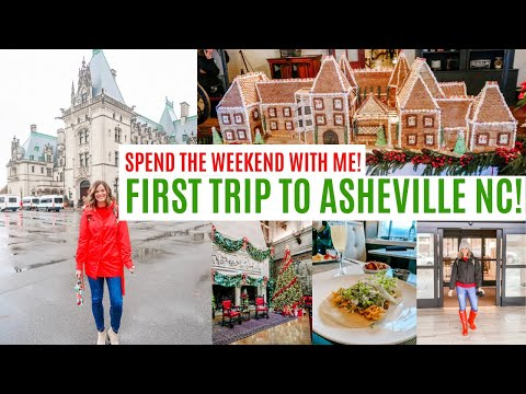 SPEND THE DAY WITH ME / FIRST TIME IN ASHEVILLE NC / VISITING THE BILTMORE AT CHRISTMAS Amy Darley
