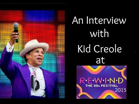 An Interview with Kid Creole at Rewind Festival South 2015