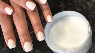 OPI dipping powder on real nail | Funny Bunny | Thanks for watching