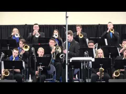 Londonderry Jazz Ensemble Clark Terry Jazz Festival at UNH 03/10/18