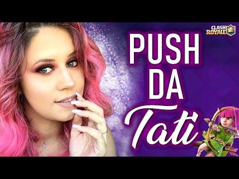 PUSHZÃO DE DOMINGÃO!!' - TATI JOGA - CLASH ROYALE thumbnail