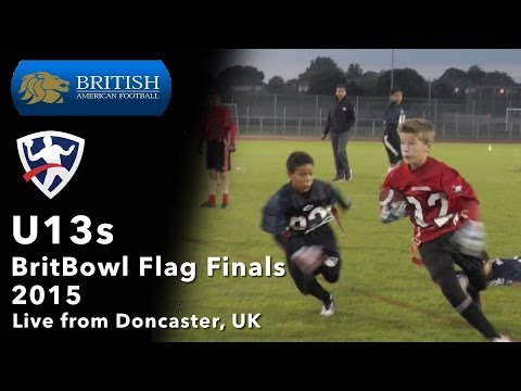 BritBowl 2015 U13s Final - London Blitz v Chorley Buccaneers