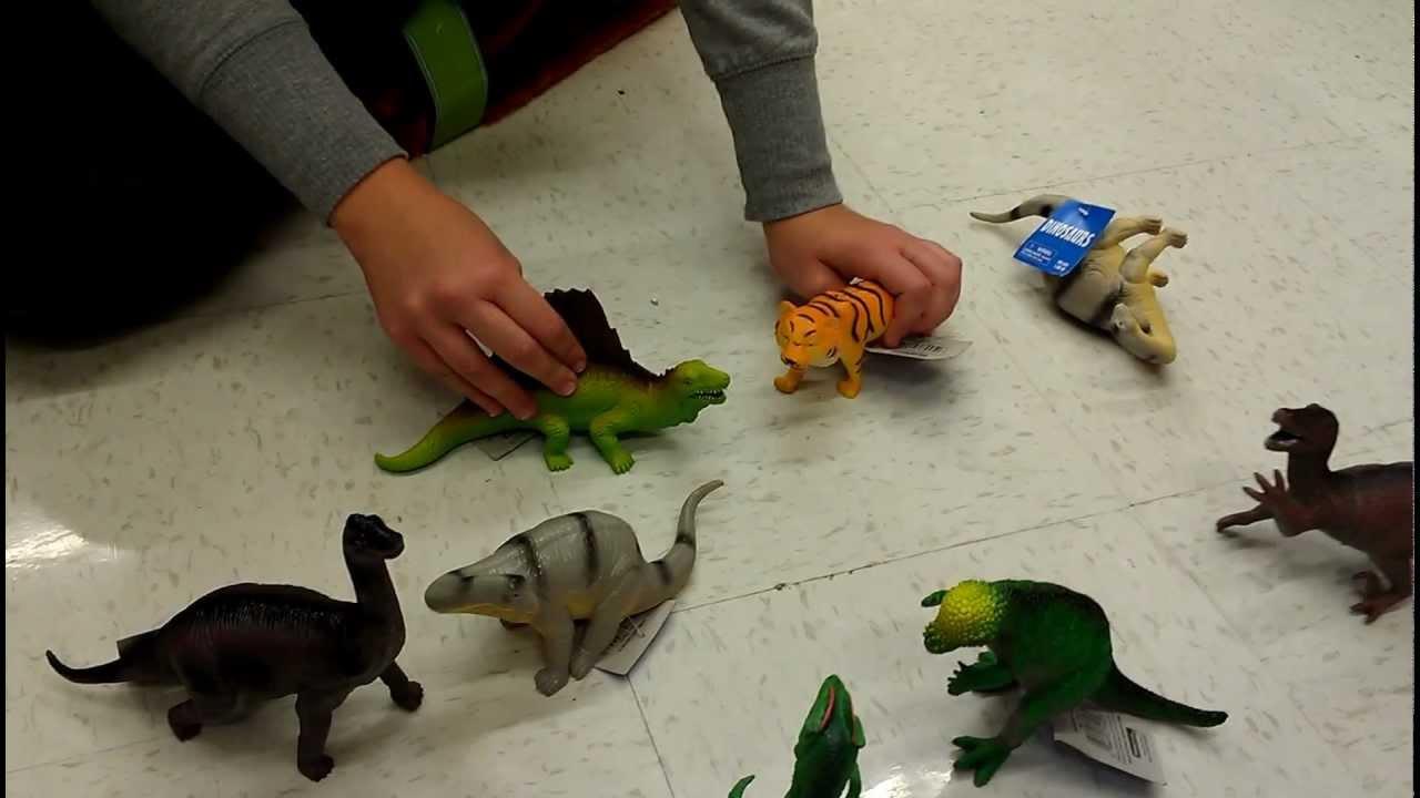 Walmart Dinosaur Toys : A dinosaur movie dinosaurs at walmart youtube