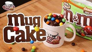 LA MEILLEURE RECETTE RAPIDE POUR LE GOÛTER (Le Mug cake m&m's)