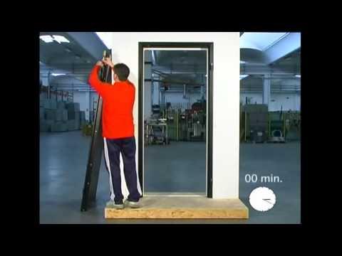 3elle montaggio porta blindata youtube - Montaggio paraspifferi porta blindata ...