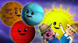 Gambar cover Planet Lagu | Lagu Tata Surya | Belajar video | Learn Planets Names | Baby Rhyme | Planets Song