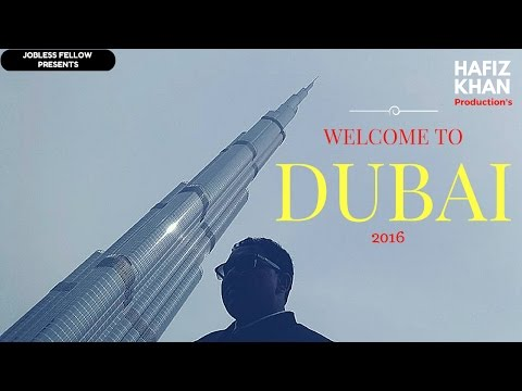 Welcome to DUBAI 2016 #Jobless fellow