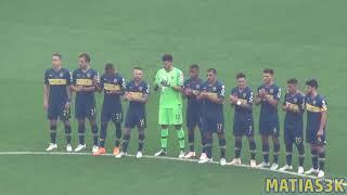 Superclasico Libertadores 2018 / Minuto de silencio