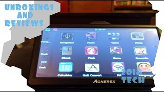 How to Update the Aonerex GPS Maps and Software