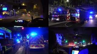 [RIDE-ALONG] London Emergency Services responding and on-scene - Man FALLS in River Thames!