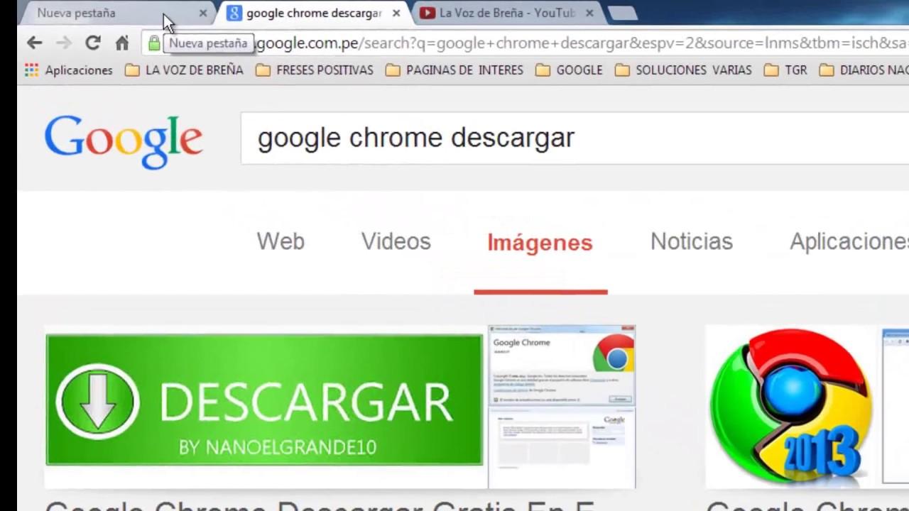 descargar google chrome gratis para pc windows 8