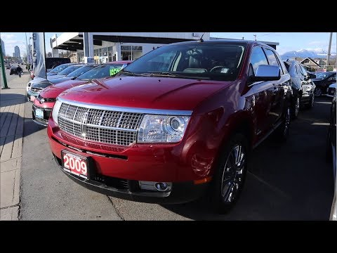 2009 Lincoln MKX AWD Limited Edition InDepth Tour