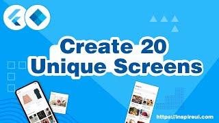 Erstellen Sie 20 Einzigartige Bildschirme In Wenigen Minuten (Flattern E-Commerce-App In 10 Minuten, Ep. 01)