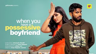 When You Have A Possessive Boyfriend ft.Eesha Rebba | Raagala 24Gantallo | Chai Bisket
