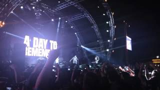 A Day To Remember - The Downfall of Us All / Self Help Fest 2016