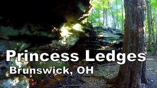 Hiking Princess Ledges | Medina County Parks | Brunswick, OH