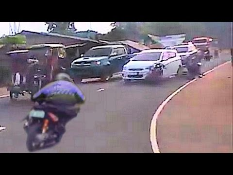WATCH!! The rider who cheated death