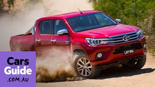 2015 Toyota HiLux review | first drive