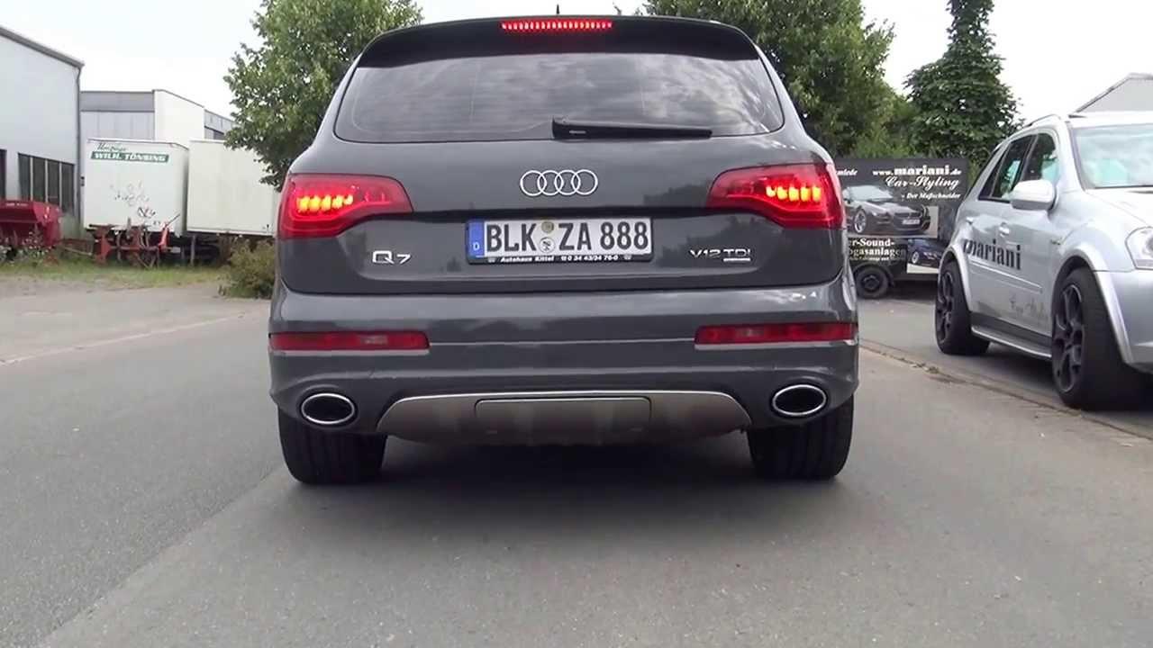 Sound Audi Q7 V12 Tdi Sportauspuff Sound By Mariani Car