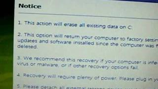 Acer eRecovery manegment