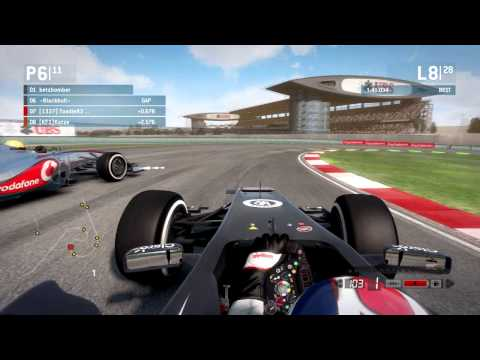 f1 2013 China 50% League Race - Formula One Fair Fighters