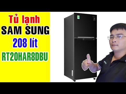 Tủ lạnh inverter Sam Sung RT20HAR8DBU 208 lít | Điện Máy Giang Nga