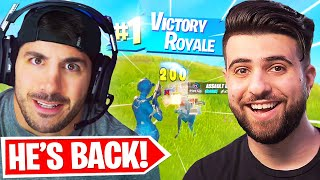 I Brought NICKMERCS Back To Fortnite!
