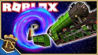 Danish Roblox | Survive A Train Ride-survives train ride through black hole?!