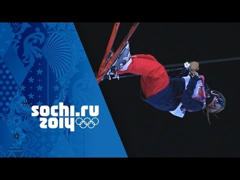 Ski Halfpipe Gold For Maddie Bowman - Amazing Run | Sochi 2014 Winter Olympics
