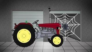 बच्चों के लिए ट्रैक्टर | कृषि मशीनरी | गैरेज | ट्रैक्टर कोन्स्ट्रुक्केजा
