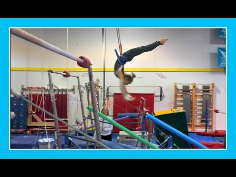 GYMNASTICS BARS RELEASES: INSIDE THE GYM | Flippin' Katie