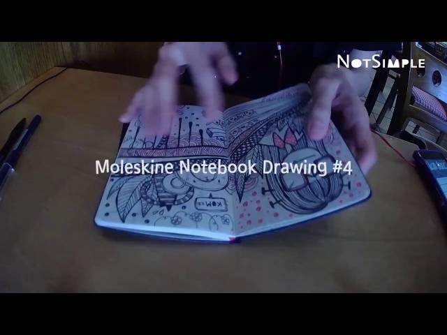 Moleskine Notebook Drawing #4