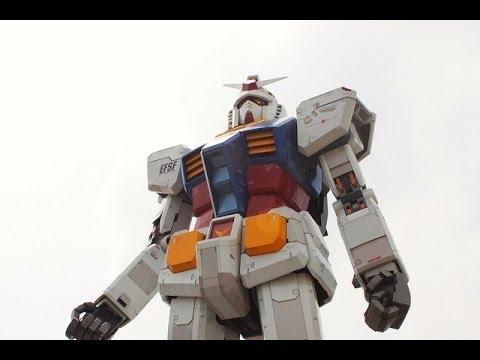 """Gundam"" Robots in Tokyo Japan"