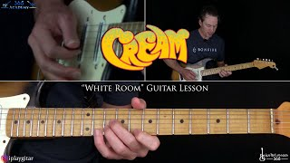 Cream - White Room Guitar Lesson