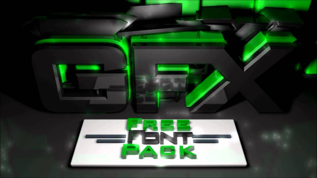 Download GameBattles GFX Font Pack - YouTube