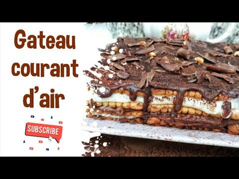 gâteau-courant-d'air-خبزة-الهواء-التونسية