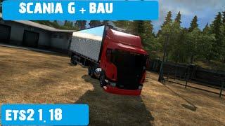Download Scania G + Bau Trans Abril Ets2 1 18