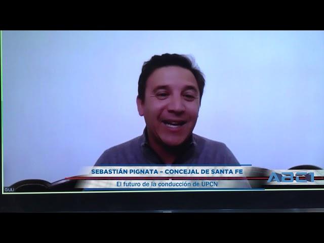 Adelanto de nota a Sebastian Pignata, Concejal de Santa Fe - ABC1 12 07 2020