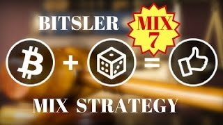 Bitsler Strategy MIX 7 Bitsler Best Bitcoin Dice with Auto Betting 2017 Earn Ethereum