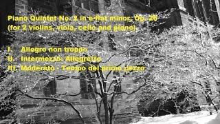 Ernst von Dohnányi Piano Quintet No. 2 in e-flat minor, Op. 26, 1 of 3