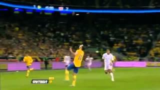 Zlatan Ibrahimović Fallrückzieher Tor - Sweden vs England (4:2) Traumtor !